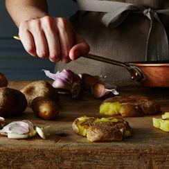 Squashed Potatoes