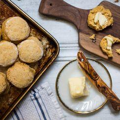 Honey Pumpkin Biscuits