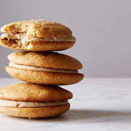 Salty Butterscotch Whoopie Pies