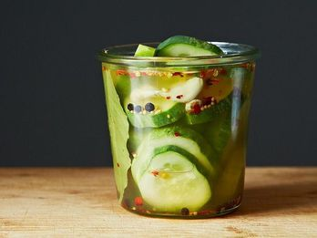 Love Pickles? Then Save the Brine, and Use It in This Chilled Summer Soup