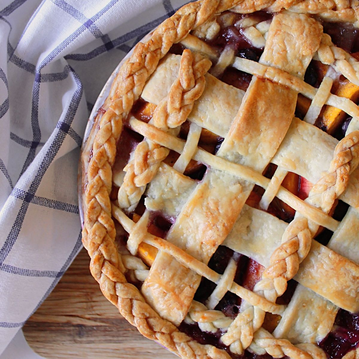 Peach Blueberry Pie Recipe On Food52