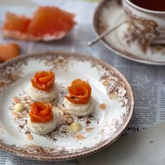 Earl Grey Cured Salmon with Vanilla Mayonnaise