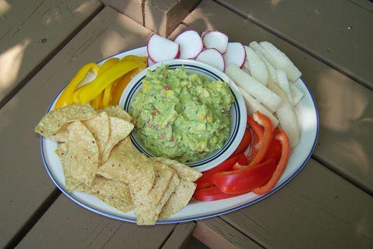 Roasted Corn and Cumin Guacamole