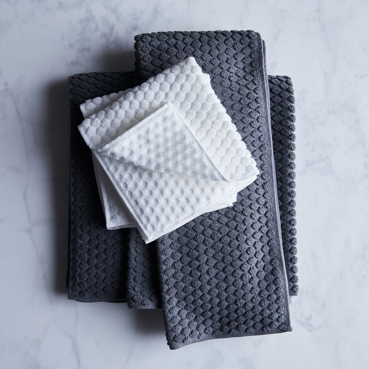 Japanese Linen Towel: Puchi Puchi Japanese Textured Bath Towels On Food52