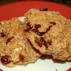 Gluten-Free Buckwheat Scones with Cardamom and Cherries