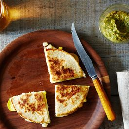 Grilled Corn and Summer Squash Quesadillas