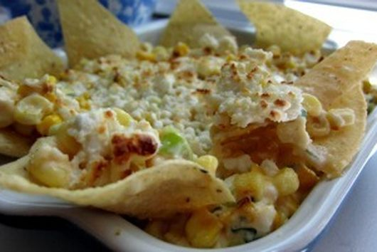 Corn and Crab Elote