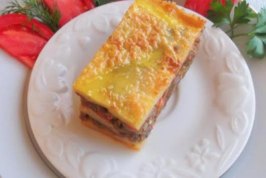 My Mom's Luscious Potato Moussaka, Jewish Style