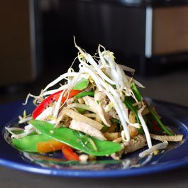30a3f137 ed13 4235 8f0e 4a4353cb0298  chicken salad on blue plate