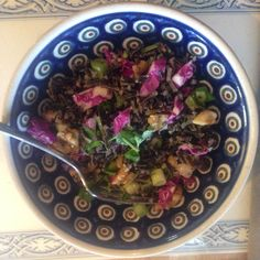 Jenn's Wild Rice Salad with Scallions