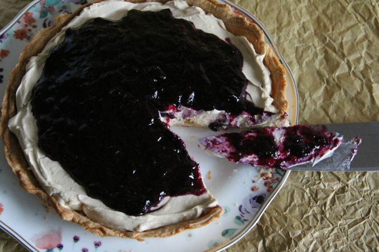 Coffee Blueberry Pie