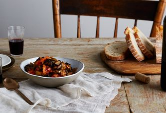 A Sweet, Sour, & Simple Eggplant Dip You'll Want To Add To Everything