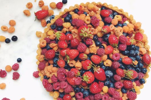 Fresh Mixed Berry Tart