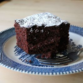"Vegan Chocolate Cake (""Chocolate Happy Cake"")"