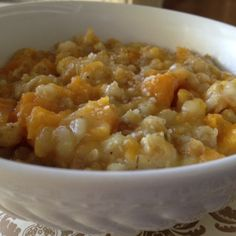 Incredibly Easy Curried Farro Risotto with Butternut Squash