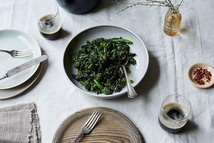 Broccoli Rabe Goma-ae