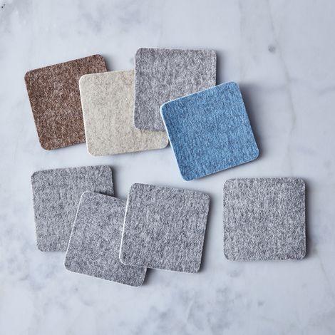 Square Felt Coasters (Set of 4)