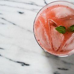 Roasted Strawberry Gin + Tonic