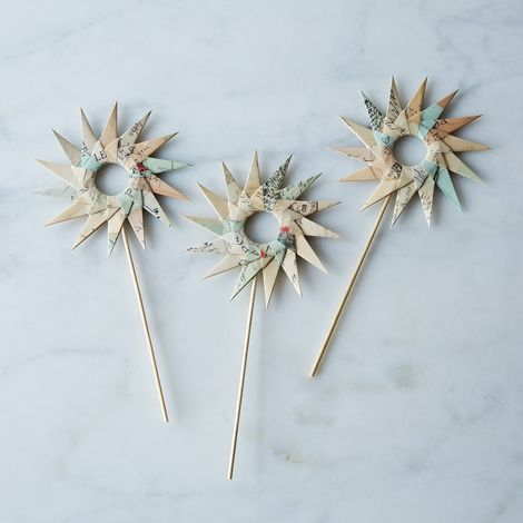 Set of 3 Décor Cake Toppers