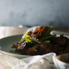 Ribs with Asian Pear Sauce