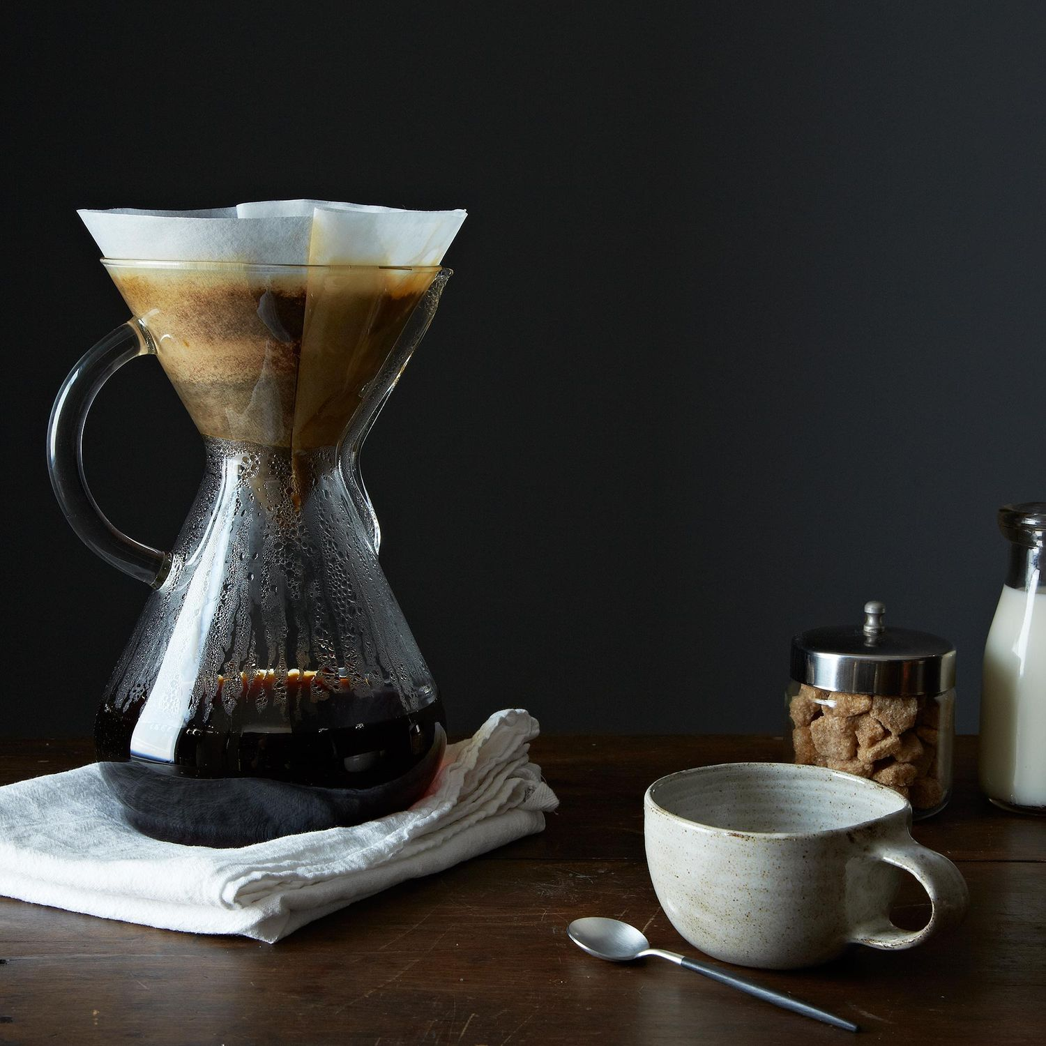 Glass Handled Chemex Brewer With 100 Filters On Food52