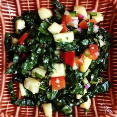 Spicy Pineapple Kale Salad