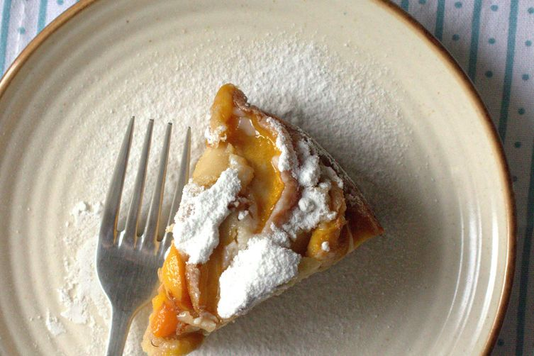Peach yogurt cake