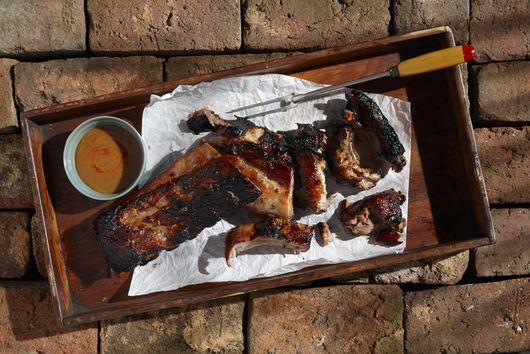 Texas Pete® Hot Sticky Finger Plum Pork Spareribs