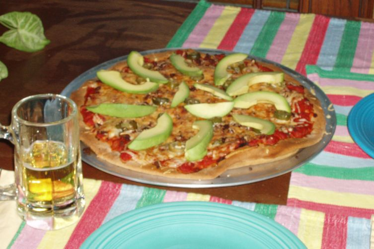 Mexican Chorizo Pizza