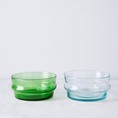 Moroccan Recycled Bottle Bowls