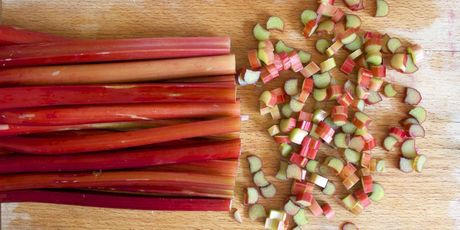 Flip your rhubarb habit on its head