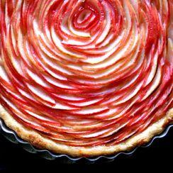 Honey Blossom Honey Crisp Apple Tart