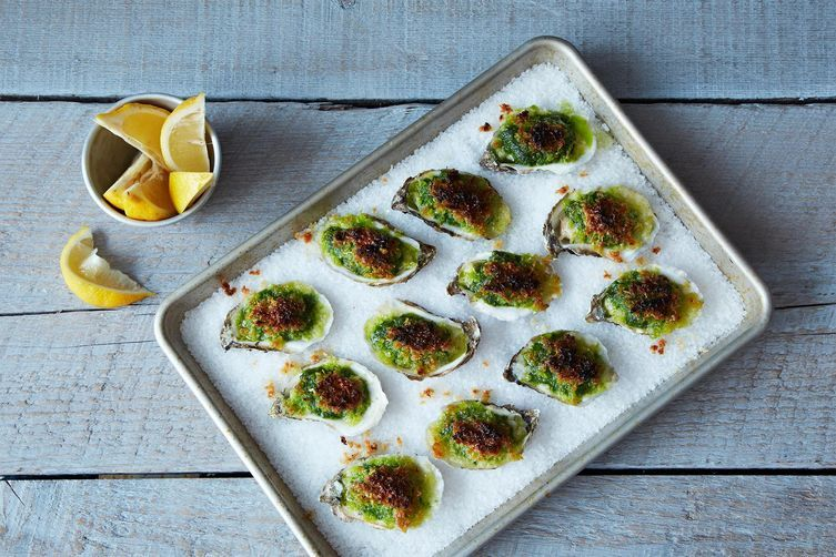 Oysters rockefeller from Food52
