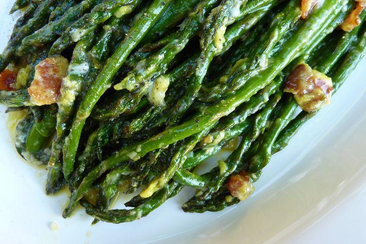 Asparagus alla Carbonara