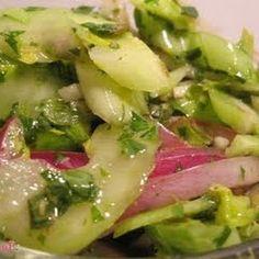 Marinated Celery Salad