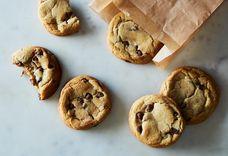 Andrea Bemis' Fresh Mint Chocolate Chip Cookies