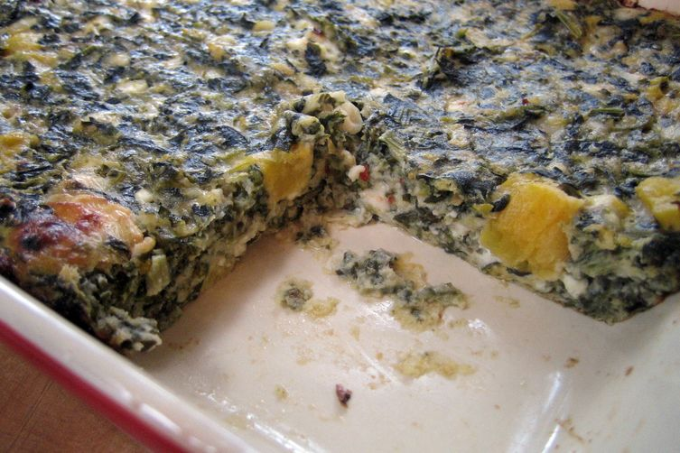 Spinach Cheese Bake