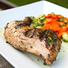Fennel Garlic Grilled Chicken Legs