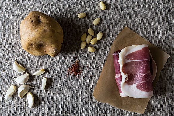 potatoes & ham