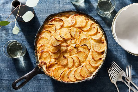 7 Recipes We're Cooking This Week, Like the Creamiest Scalloped Potatoes