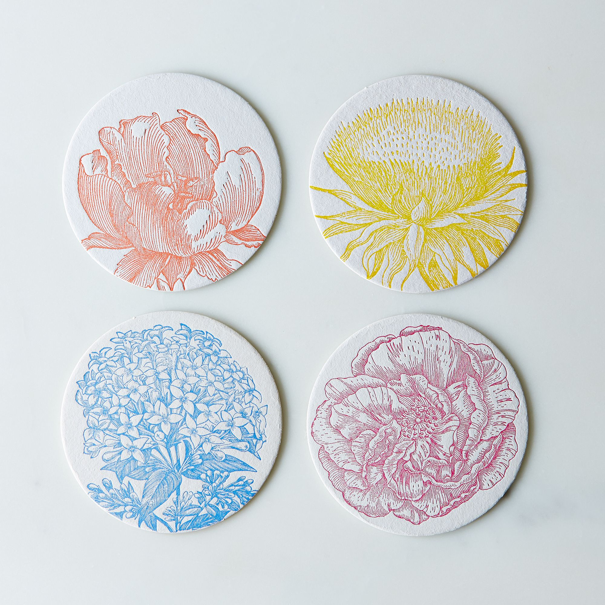 Flower Coaster by Rifle Paper Co.