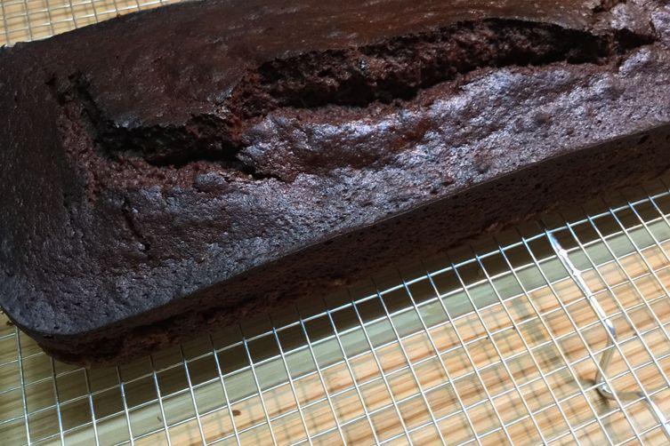 Carob  hazelnut cake