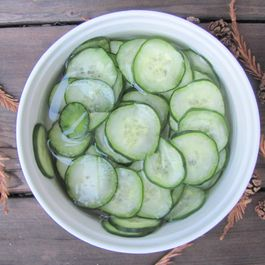 Quick Pickled Cucumbers: An Adventure in Cooking from Fäviken