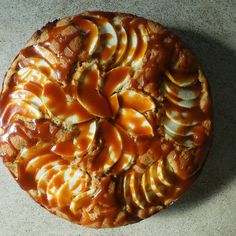Miso Caramel Apple Cake