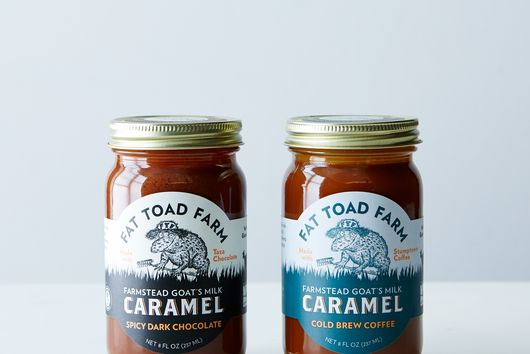 Dark Chocolate & Cold Brew Coffee Goat's Milk Caramel Sauce (2-Pack)