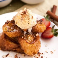FRENCH TOAST IN NEW ORLEANS STYLE – PAIN PERDU