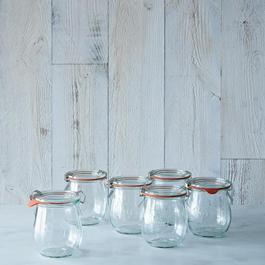 Weck Tulip Jar (Set of 6)