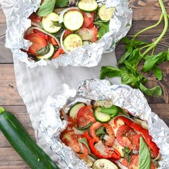 Grilled Ratatouille Foil-Packets