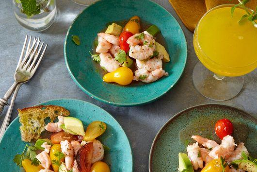 Kicked-up Seafood Salad