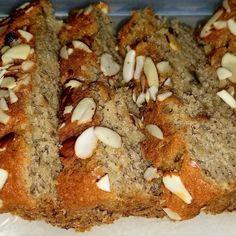 Banana Almond Bread Loaf